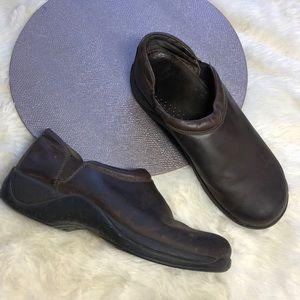 Dansko Slip Resistant Leather  Slip On Shoes 45